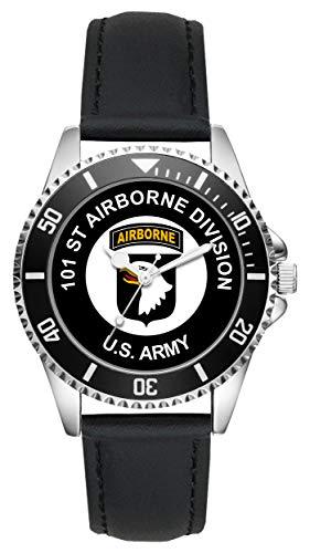 KIESENBERG - Geschenk US Army Veteran Military Soldat 101st Airborne Division Uhr L-6500