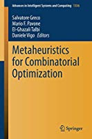 Metaheuristics for Combinatorial Optimization (Advances in Intelligent Systems and Computing, 1336)