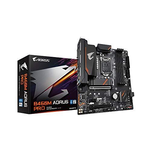Gigabyte B460M AORUS PRO (LGA1200/Intel/B460/Micro ATX/Dual M.2/SATA 6Gb/s/USB 3.2 Gen 1/DDR4/Motherboard)