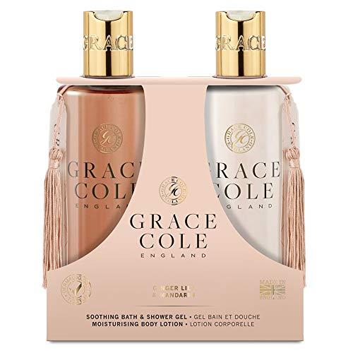 Grace Cole Ginger Lily & Mandarin Body Care Set 2 x 300ml