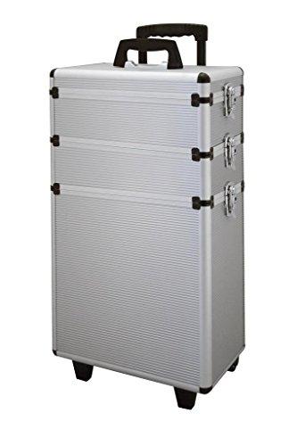 Comair 3011178 Kapperskoffer, aluminium zilver