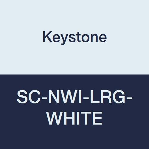 Keystone Excellence SC-NWI-LRG-White Polypropylene Shoe Pack 35% OFF White Cover