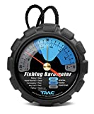 Trac Outdoors Fishing Barometer - Track Pressure Trends for Fishing Success - Easy Callibration (69200)