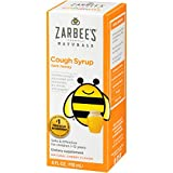 Zarbee's Naturals Children's Cough Syrup with Dark Honey, Natural Cherry Flavor, 4 Ounce