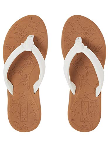 Roxy Women's Vickie Sport Sandal, WHITE, 6 M US