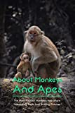 About Monkeys And Apes: The Most Popular Monkeys And Share Interesting Facts And Striking Pictures: Monkeys Book (English Edition)
