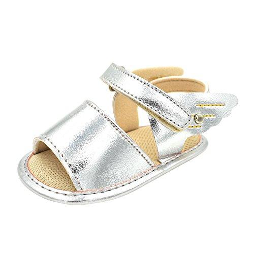 Unisex Babyschuhe, Mädchen Junge Baby Kleinkind Sandalen Flügel Kleinkindschuhe mit Weiche Sohle Freizeitschuhe Neugeborenes Säugling Schuhe