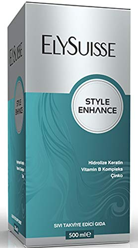 ElySuisse Style Enhance Provides hydrolysed Liquid Keratin, Vitamin B Complex and zinc as Ingredients to Maintain The Health of Hair and Nails.