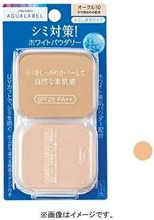 Shiseido Aqualabel White Powder Foundation BO10 SPF25/PA++ 11.5g Refill