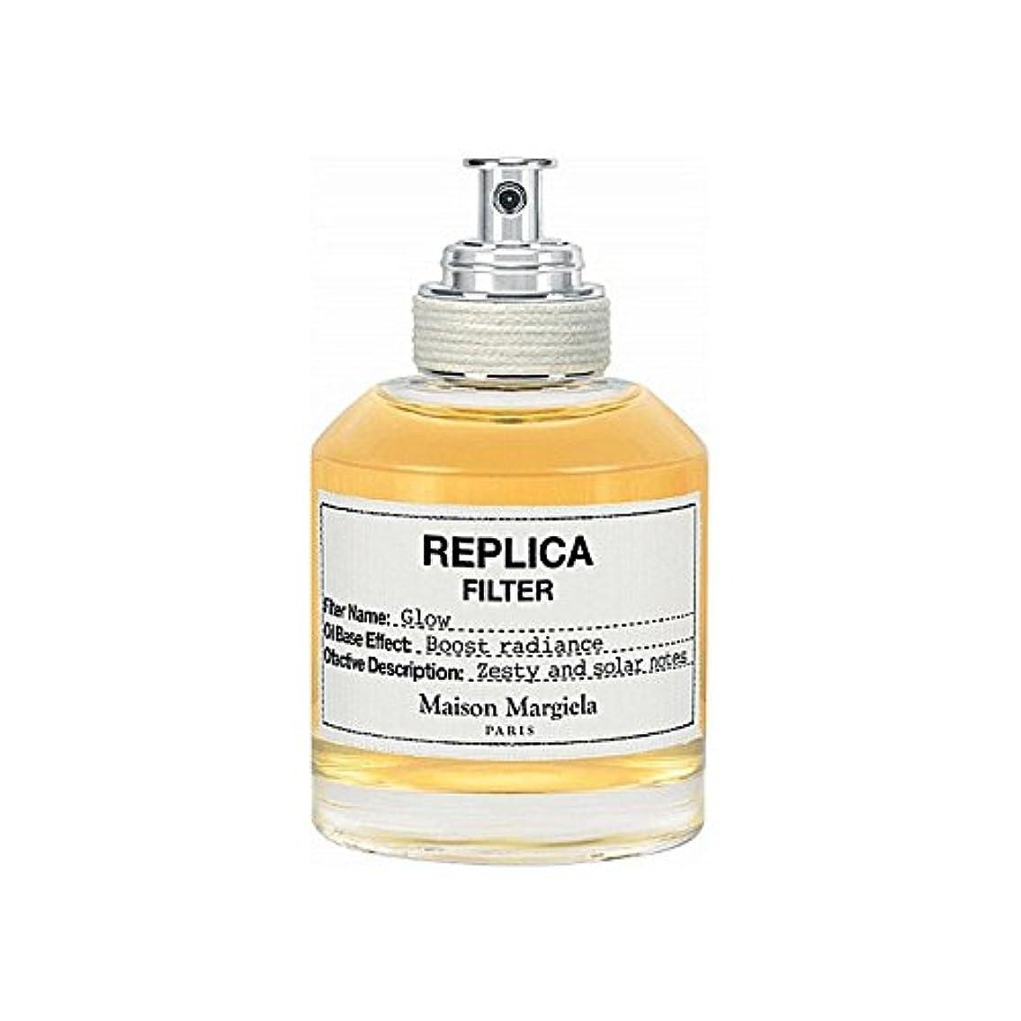 家畜略奪キャリアMaison Margiela Glow Replica Filter 50ml (Pack of 6) - メゾンマルジェラグローレプリカフィルタ50ミリリットル x6 [並行輸入品]