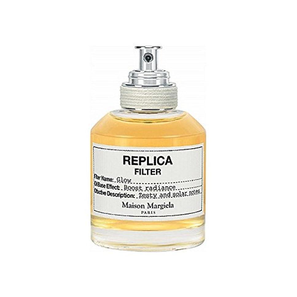 確認してくださいヤギ偶然Maison Margiela Glow Replica Filter 50ml (Pack of 6) - メゾンマルジェラグローレプリカフィルタ50ミリリットル x6 [並行輸入品]
