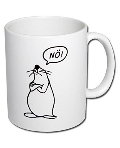 Spruchtasse Funtasse Bürotasse Tasse mit Spruch Kaffeetasse Tasse mit Aufdruck Seehund