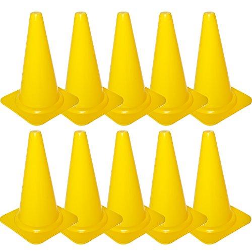 Cawila Markierungskegel 10er, Gelb, 00930058