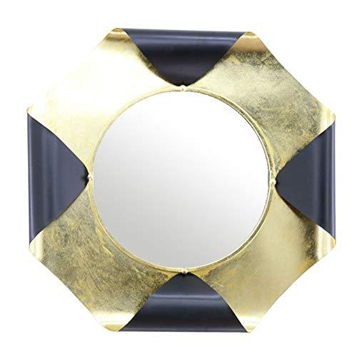 Cqing Espejo de Pared Octogonal Decorativo