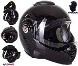 Viper Moto Crash casque modulaire ECE–homologuée Rs-202–Reverse Flip...