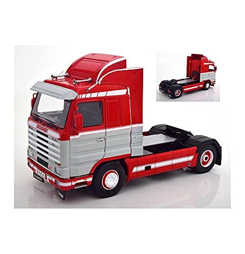 new SCANIA 143 STREAMLINE 1992 RED/WHITE 1:18 - KK Scale - Camion - Die Cast - Modellismo
