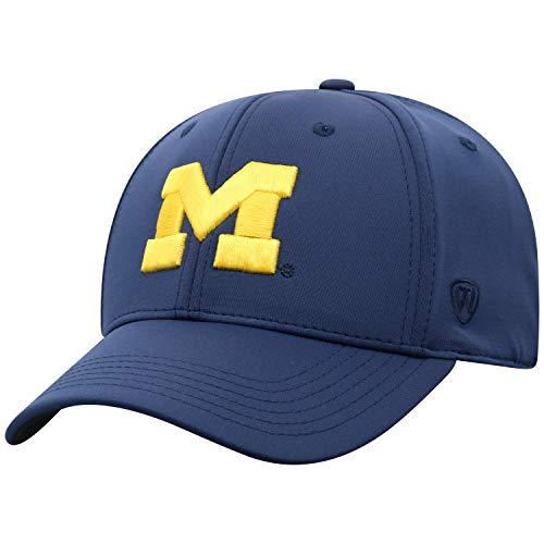 Top of the World Herren Mütze NCAA One Fit Phenom Team Icon, Herren, NCAA Men's One Fit Phenom Team Icon Hat, Michigan Wolverines Navy, Einstellbar