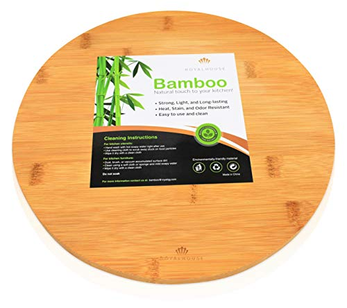 Round Bamboo Cutting Board by Royal House