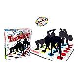 WLL Juego de Piso de Equilibrio para Adultos y niños, Juego de Mesa clásico Twister, Juguetes de Aprendizaje, Juego de Fiesta, Picnic, Deporte al Aire Libre,1pack