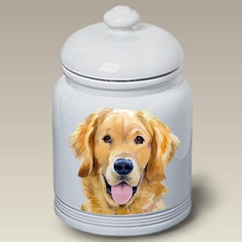 Best of Breed golden Retriever  Barbara Van Vliet Ceramic Treat Jars