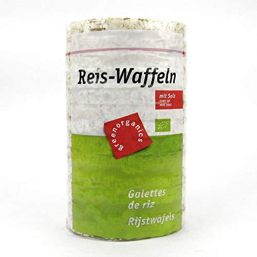6x Green Organics Reiswaffeln mit Salz bio 100 g