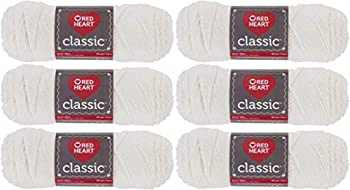 Red Heart E267-3 Red Heart Classic Yarn - Off White