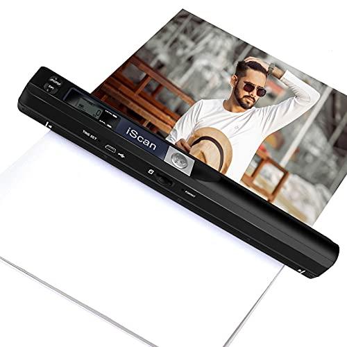 Portable Scanner, 900DPI Resolution…