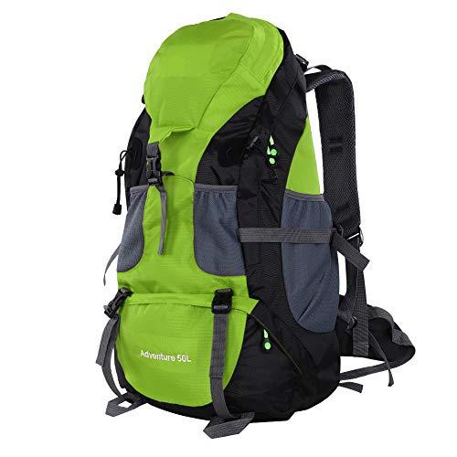 OhhGo Mochila de montañismo Free Knight 50L bolsa impermeable para...