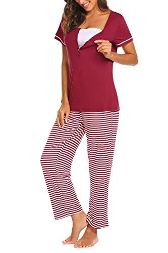 Pijama de premamá marca Maxmoda