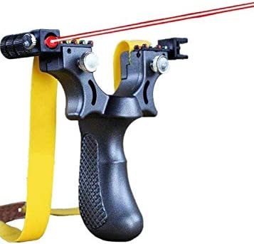 Slingshot Precision Powerful Rubber Toy Hunting Shooting Slingshots Laser Slingshot Free Rubber product image