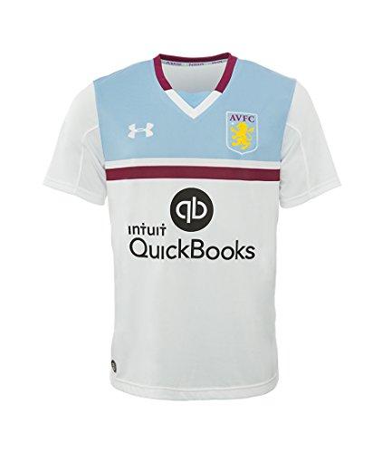 Under Armour 2016-2017 Aston Villa Away Football Soccer T-Shirt Trikot (Kids)