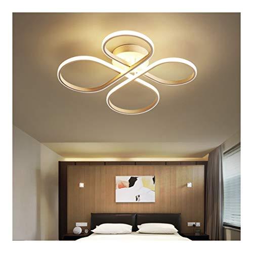 & Lamparas de techo Lámpara del techo, dormitorio LED de la lámpara moderna simple de la flor en forma de hogar de arte for habitaciones de niños Iluminación Sala de la lámpara [Clase energética A ++]