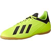 adidas X Tango 18.4 in, Zapatillas de fútbol Sala para Hombre, Multicolor (Amasol/Negbás/Ftwbla 000), 41 1/3 EU