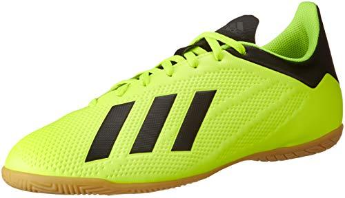 adidas X Tango 18.4 in, Zapatillas de fútbol Sala para Hombre, Multicolor (Amasol/Negbás/Ftwbla 000), 42 2/3 EU