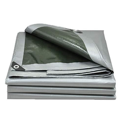 NJ Plane- Verdickte Polyethylen-Plane, feuerfest, Markise, Autoplane, (160 G / M2) Silber, 12 Größen zur Auswahl (größe : 2x3m)