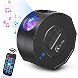 Star Projector,Night Light Projector with LED Nebula Cloud.Galaxy Star Light Projector with Bluetooth Speaker for Bedroom/Game Rooms/Home Theater/Night Light Ambiance,Remote Control