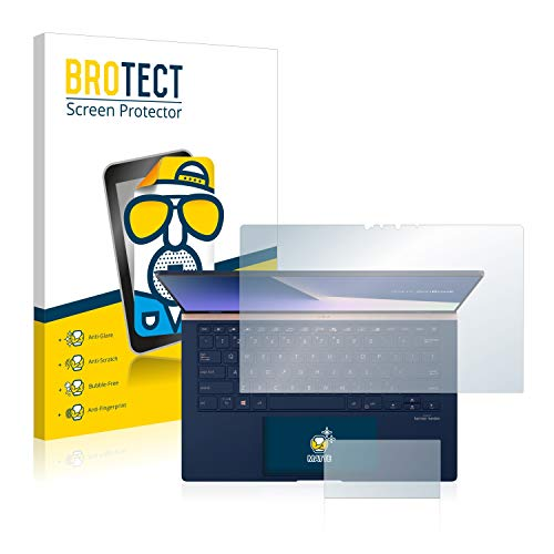 BROTECT Entspiegelungs-Schutzfolie kompatibel mit Asus ZenBook 14 UX434FL Bildschirmschutz-Folie Matt, Anti-Reflex, Anti-Fingerprint