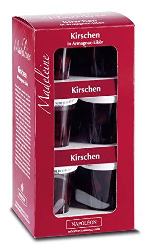 Madeleine - Kirschen in Armagnac 9x 0,04l