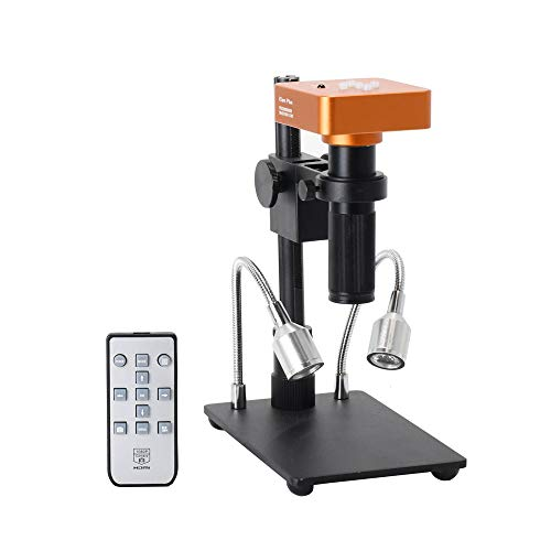 HAYEAR Full Set 34MP 21MP 2K 1080P 60FPS Full HD HDMI USB C-Mount Electronic Industry Microscope Camera Kit for PCB Repair Portable