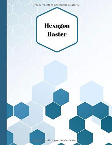 Hexagon Raster: 110 A4 Seiten