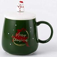 480ml 朝食カップ ミルクカップ マグカップ かわいいコーヒーマグ とカップ コーヒーカップティーカップウォーターカップカップルクリスマスギフトマグセラミックカップ アフタヌーンティー-C