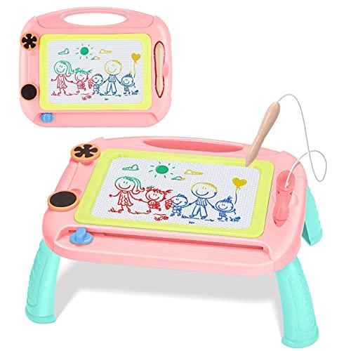 Toyze Juguetes Niña 2 3 4 5 6 Años, Pizarra Magnetica Infantil Regalo Niña 2 3 4 5 6 Años Pizarra Infantil Juguetes para Niñas de 2-6 Años Regalos Cumpleaños Niños