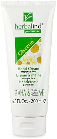 Herbalind Glycerin Hand Cream Unscented 200ml Cream product image