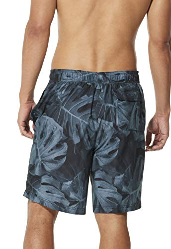Speedo Men's Swim Trunk Knee Length Boardshort E-Board Comfort Liner Printed