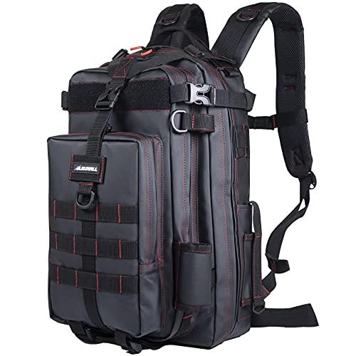 BLISSWILL Fishing Backpack Waterproof Tackle Bag Storage Bag Fishing Gear Bag