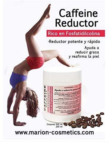 Gel Anticelulítico Reductor Caffeine xxl - 500ml .