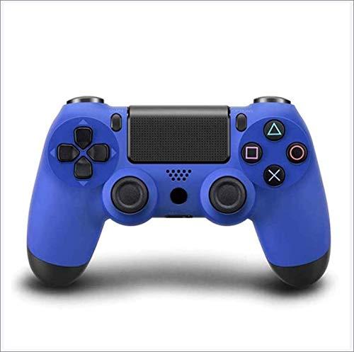 Game Controller für PS4, Bluetooth Wireless Gamepad Joystick Controller für PlayStation 4, Dual Vibration Motor, LED Light Bar, Anti-Rutsch-Griff - Grip - Navy Blue