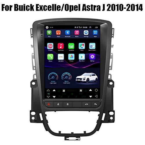 HP CAMP Navigationssystem für Buick Excelle/Opel Astra J 2010-2014, Car Radio Android 9.1 8 Core mit CarPlay/DSP/Rückfahrkamera, unterstützt GPS/RDS/OBD/DVR/DAB,4g WiFi 2g+32g