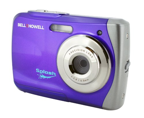Bell + Howell WP7 16 MP Waterproof Digital Camera with HD Video, Purple