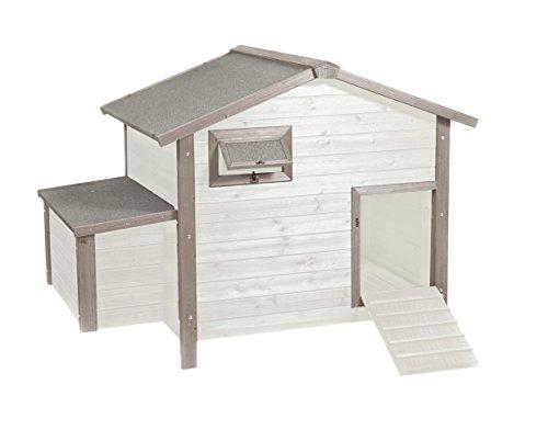 Duvo+ Woodland Style Cottage pollaio con Vassoio di Ponte